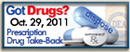 Rx Drug Take Back Button