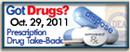 Prescription Drug Take-Back Button