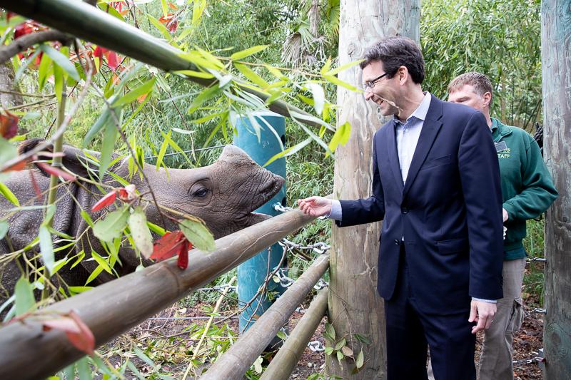 Attorney General Bob Ferguson at Woodlank Park Zoo