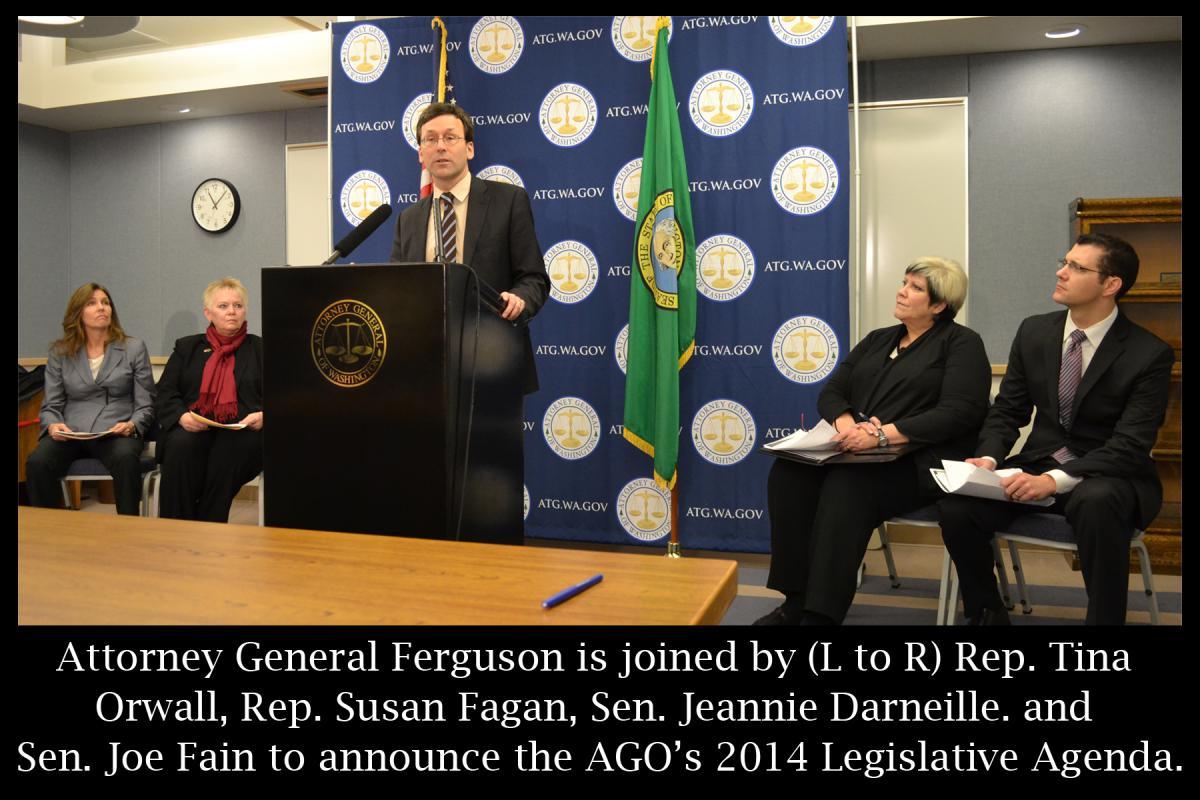 Feb 2014 - Legislative Agenda