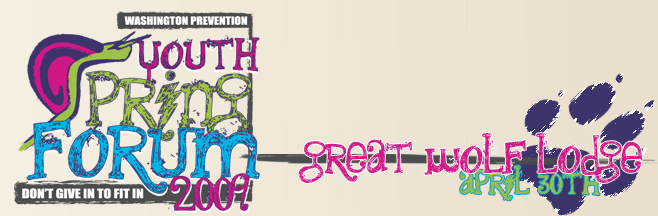2009 Youth Spring Forum Banner