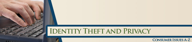 Identity Theft and Privacy Banner