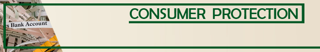 Safeguarding Consumers Banner