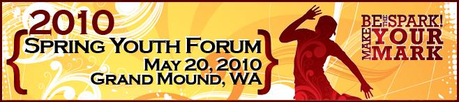 2010 Spring Forum Banner