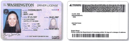 New Washington Driver Thwart Identity State Help Theft Will License