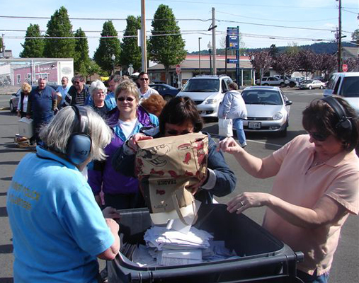 Community Shred Events | Washington State